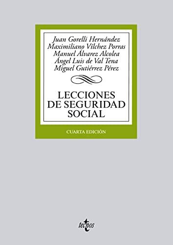 9788430963201: Lecciones de Seguridad Social / Social Security Lessons (Spanish Edition)
