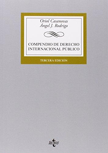 9788430963225: Compendio de Derecho Internacional Público (Derecho - Biblioteca Universitaria De Editorial Tecnos)