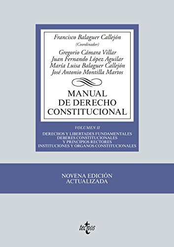 Manual de derecho constitucional / Manual of