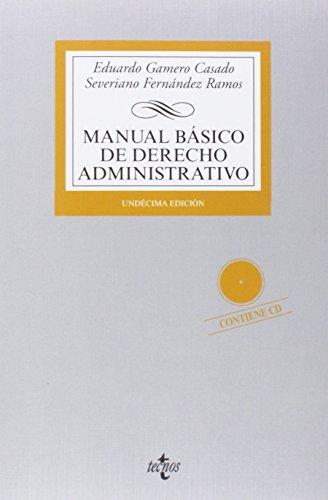 9788430963317: Manual básico de Derecho Administrativo / Basic Manual of Administrative Law (Spanish Edition)