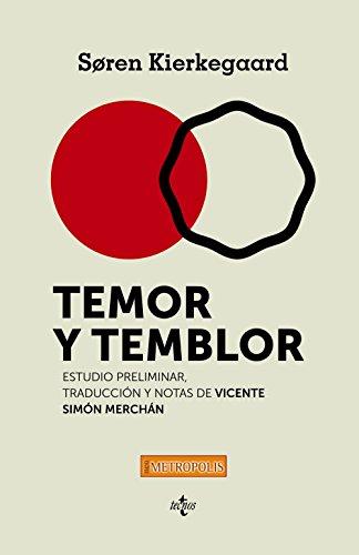 9788430963676: Temor y temblor (Filosofía - Neometrópolis)