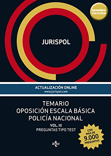 9788430965380: Oposición Escala Básica Policía Nacional. Preguntas Tipo Test - Volumen 3 (Derecho - Práctica Jurídica)
