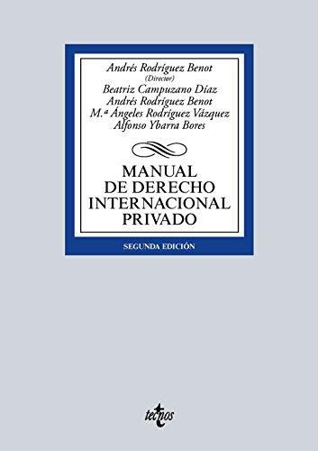 Manual de derecho internacional privado 2015: Vv.Aa.