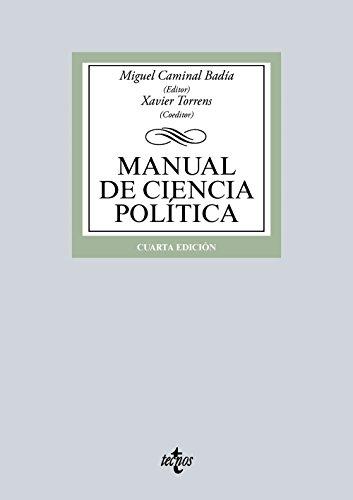 MANUAL DE CIENCIA POLÍTICA: Miquel Caminal Badía;