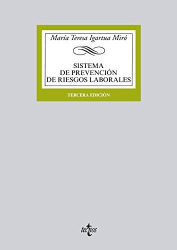 9788430966370: Sistema De Prevención De Riesgos Laborales (Derecho - Biblioteca Universitaria De Editorial Tecnos)