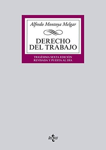 9788430966424: Derecho del Trabajo (Derecho - Biblioteca Universitaria De Editorial Tecnos)
