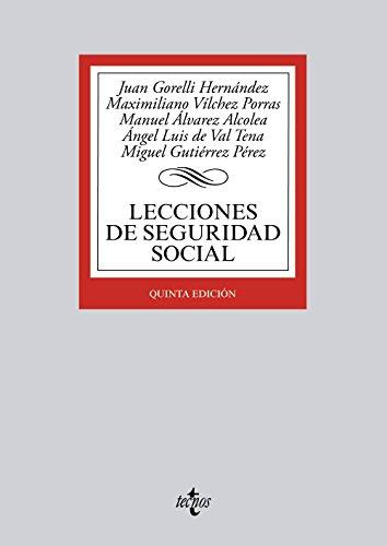 9788430966486: Lecciones de Seguridad Social