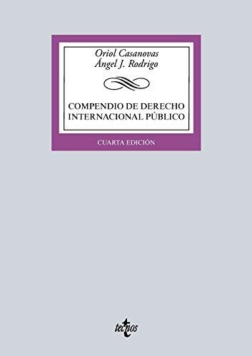 9788430966509: Compendio de Derecho Internacional Público (Derecho - Biblioteca Universitaria De Editorial Tecnos)