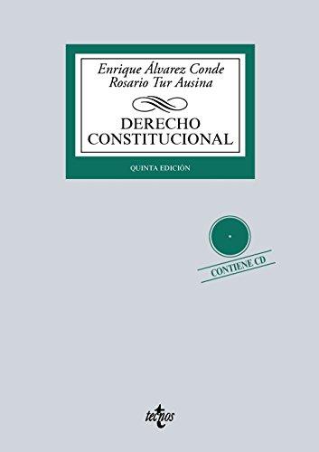 9788430966516: Derecho Constitucional: Contiene CD (Derecho - Biblioteca Universitaria De Editorial Tecnos)