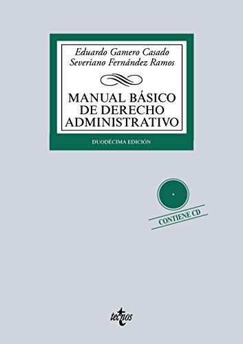 9788430966585: Manual b�sico de Derecho Administrativo