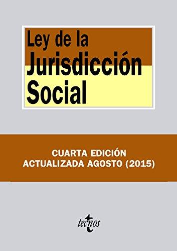 9788430966714: Ley De La Jurisdicción Social (Derecho - Biblioteca De Textos Legales)