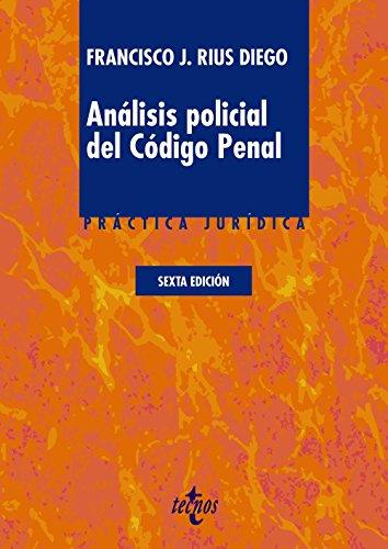 9788430966851: Análisis policial del Código Penal