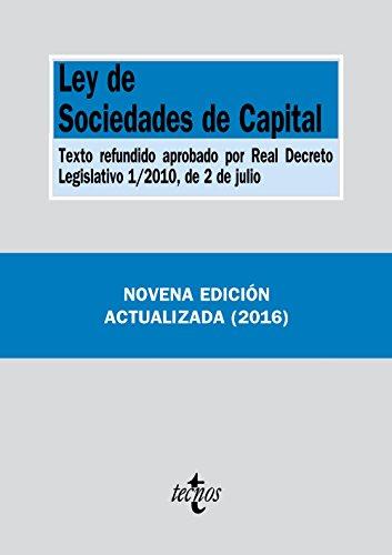 9788430969142: Ley de Sociedades de Capital: Texto refundido aprobado por Real Decreto Legislativo 1/2010, de 2 de julio (Derecho - Biblioteca De Textos Legales)