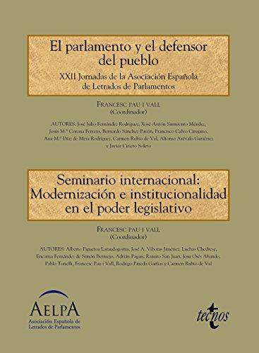 El Parlamento y el Defensor del Pueblo: Jaraquemada Roblero, Jorge;