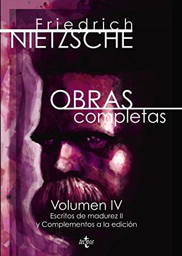 Obras completas: Nietzsche, Friedrich