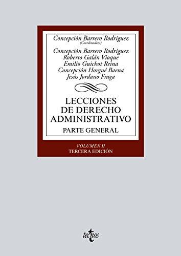 Lecciones de Derecho Administrativo. Vol 2. Parte: Jordano Fraga, Jesús;