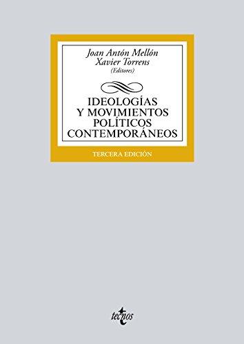 9788430969685: Ideologías y movimientos políticos contemporáneos (Derecho - Biblioteca Universitaria de Editorial Tecnos)