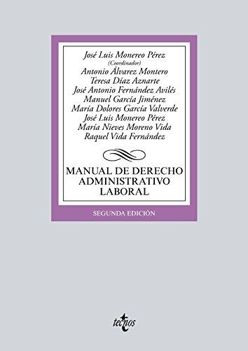Manual de derecho administrativo laboral: Vida Fernández, Raquel;