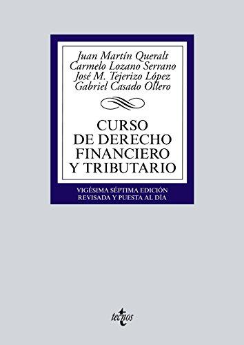 Curso de Derecho Financiero y Tributario: Casado Ollero, Gabriel;