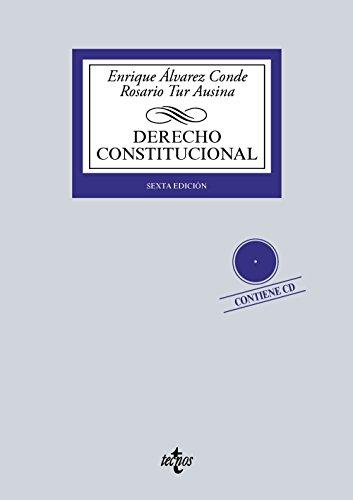 9788430969845: Derecho Constitucional: Contiene CD (Derecho - Biblioteca Universitaria De Editorial Tecnos)