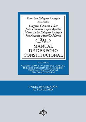 Manual de Derecho Constitucional: Montilla Martos, José
