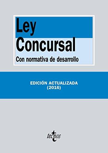 9788430970100: Ley Concursal: Con normativa de desarrollo (Derecho - Biblioteca De Textos Legales)