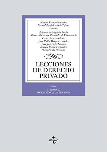9788430970230: Lecciones de Derecho privado