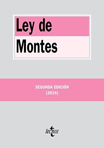Ley de Montes (Paperback): AA.Vv.