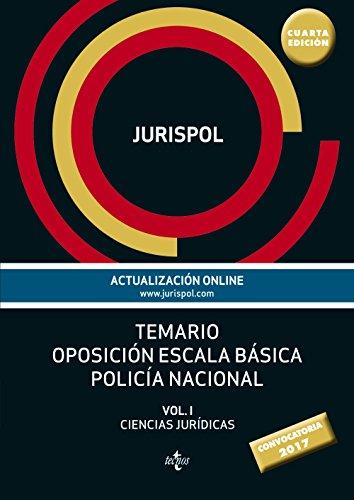 9788430971053: Temario oposición escala básica policía nacional: Vol. I: Ciencias Jurídicas (Derecho - Práctica Jurídica)
