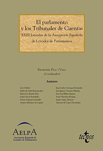El Parlamento y los Tribunales de Cuentas: Aymerich Cano, Carlos;