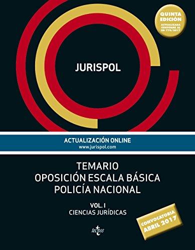 9788430971916: Temario oposición escala básica policía nacional: Vol. I: Ciencias Jurídicas (Derecho - Práctica Jurídica)