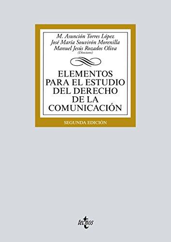 ELEMENTOS PARA EL ESTUDIO DEL DERECHO DE: María Asunción Torres