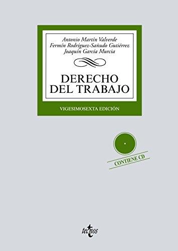 9788430972258: Derecho del Trabajo: Contiene CD (Derecho - Biblioteca Universitaria De Editorial Tecnos)