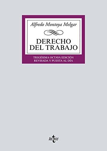 9788430972319: Derecho del Trabajo (Derecho - Biblioteca Universitaria De Editorial Tecnos)
