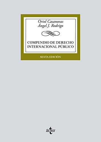 9788430972357: Compendio de Derecho Internacional Público (Derecho - Biblioteca Universitaria De Editorial Tecnos)