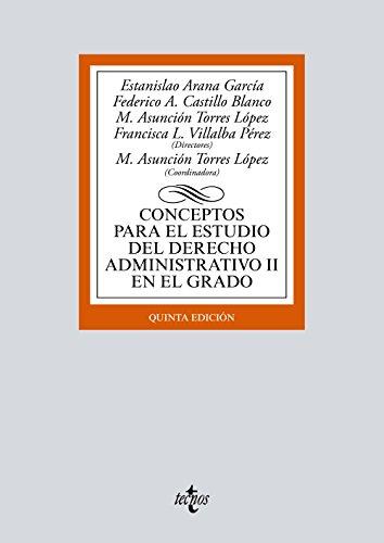 Conceptos para el estudio del Derecho administrativo: Quesada Lumbreras, Javier