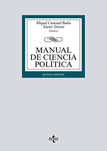 9788430974672: Manual de Ciencia Política (Derecho - Biblioteca Universitaria De Editorial Tecnos)