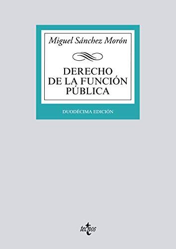 9788430977635: Derecho de la función pública (Derecho - Biblioteca Universitaria de Editorial Tecnos)