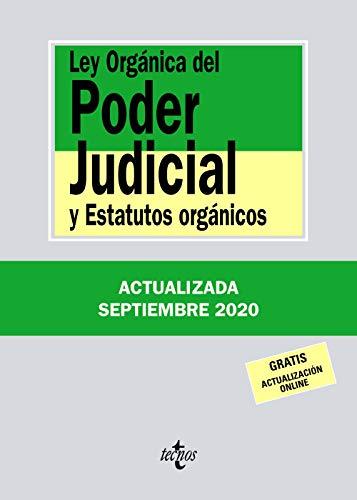 9788430980086: Ley Orgánica del Poder Judicial: y Estatutos orgánicos