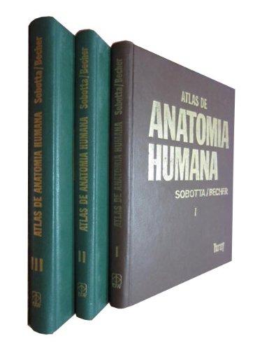 9788431009397: ATLAS DE ANATOMÍA HUMANA en 3 Tomos OBRA COMPLETA