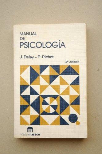9788431101589: Manual de psicologia