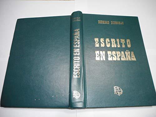 9788431201524: Escrito en España (Spanish Edition)