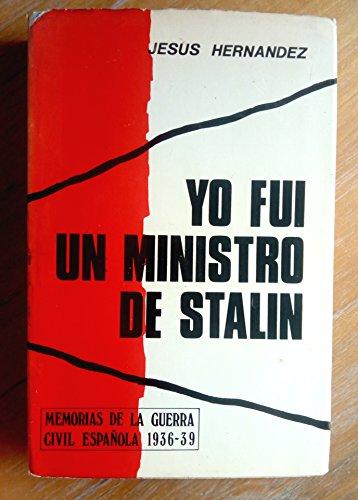 9788431201876: Yo fui un ministro de Stalin (Spanish Edition)