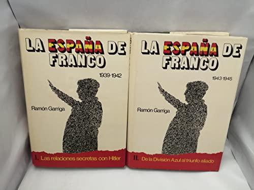 9788431202132: La Espana de Franco (Spanish Edition)