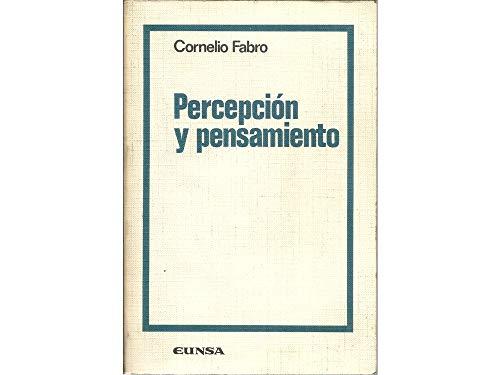 9788431304959: Percepción y pensamiento (Colección filosófica)