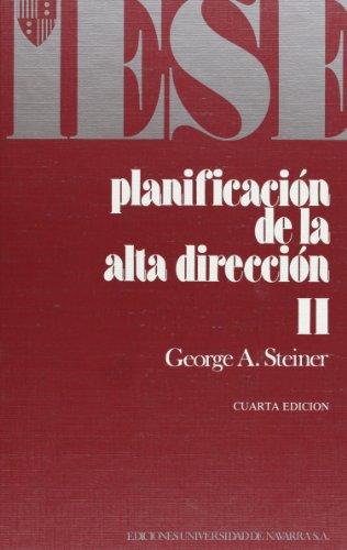 9788431305987: Planificación de la alta dirección: T.2