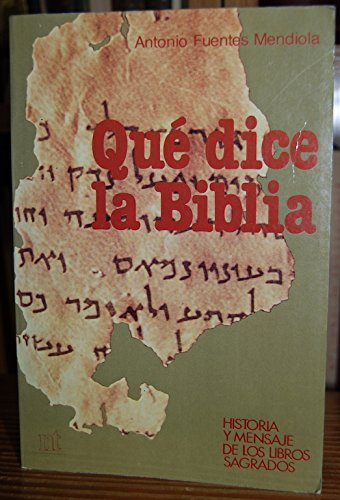 9788431307943: Qué dice la Biblia (NT religión)