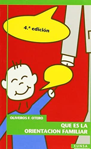 Qué es la orientación familiar (Paperback): Otero, Oliveros F.