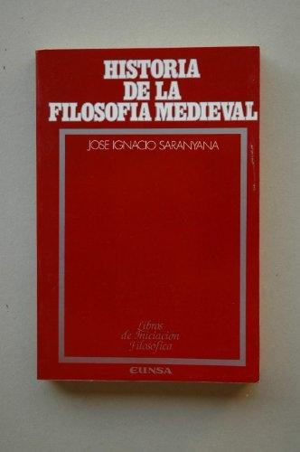 Historia de la filosofia medieval (Libros de iniciacion filosofica) (Spanish Edition): Jose Ignacio...