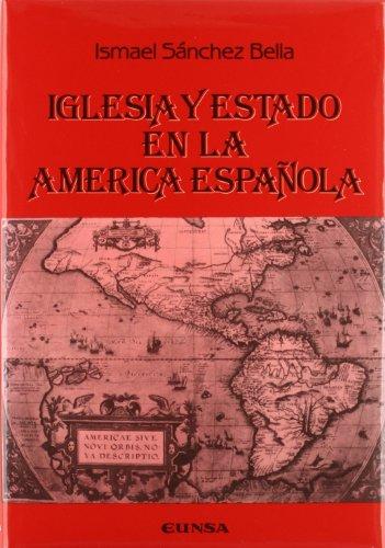 9788431310929: Iglesia y Estado en la América española